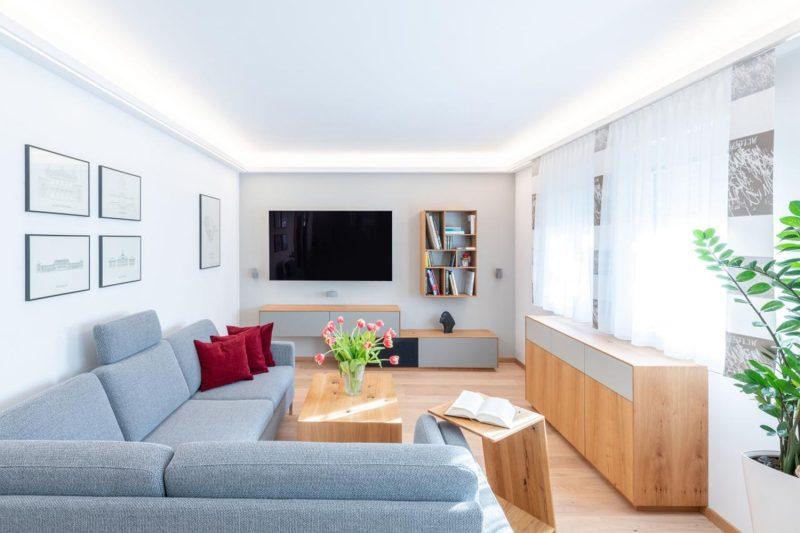 TV_Wand_Wohnzimmerumbau_Haussanierung_Vierzueins_Design
